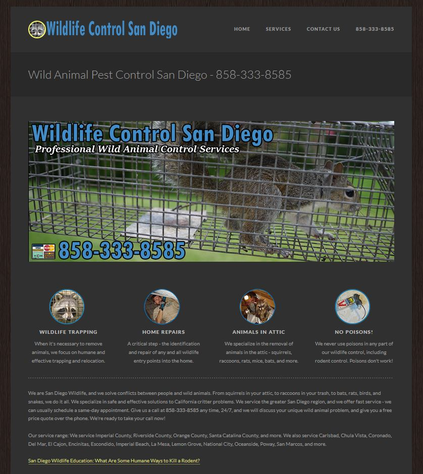 Wildlife Control Local SEO 2